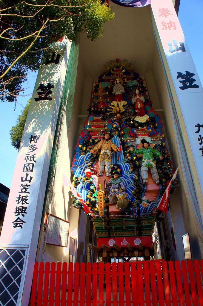 櫛田神社で夏祭り「博多祇園山笠」の飾り山を見てみよう!