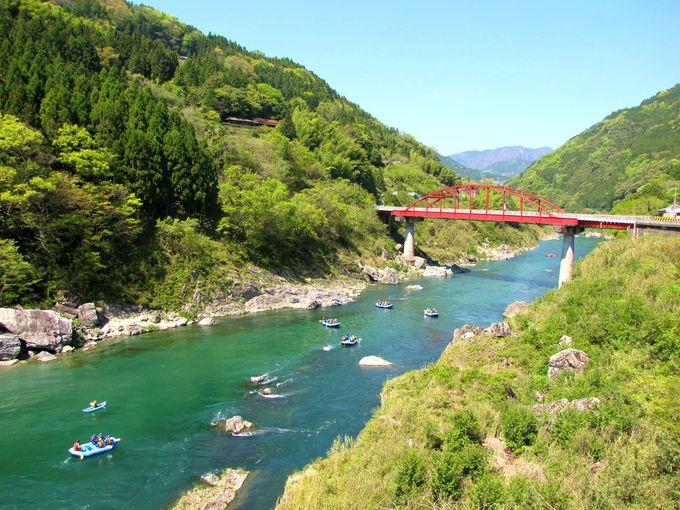 日本一の激流!? 絶景とスリルがWで味わえる「吉野川」(徳島)