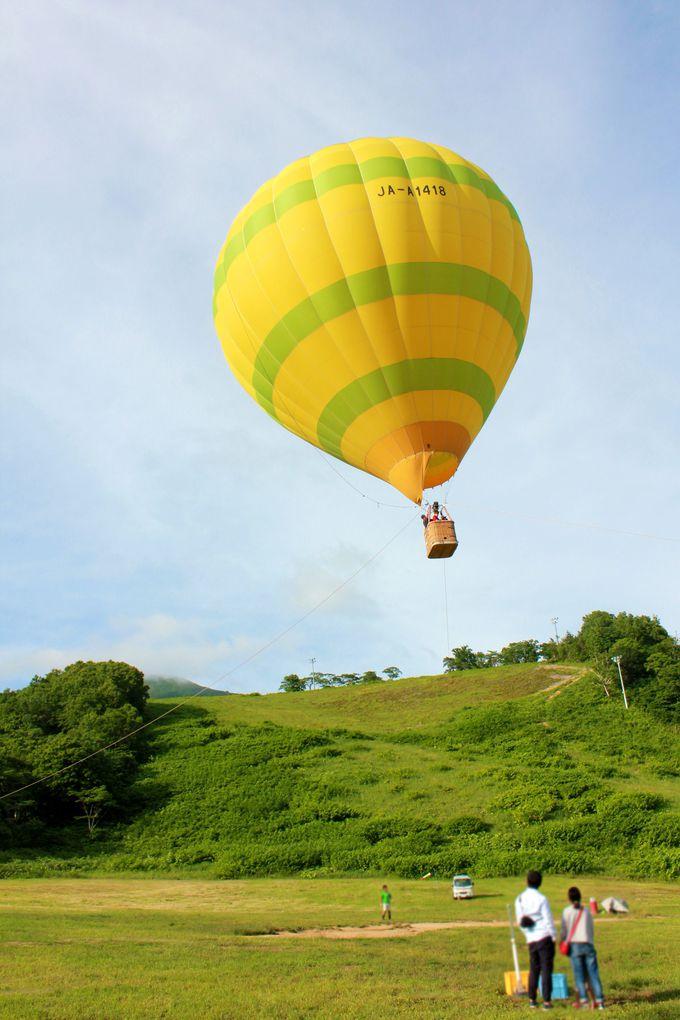 地上30メートルの空の旅!