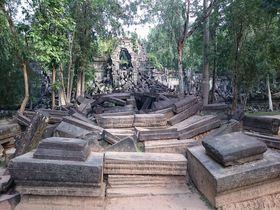 天空の城ラピュタのモデル!絶対感動出来る「カンボジア」絶景スポット