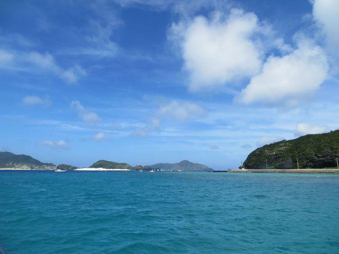 いざ、慶良間諸島へGO!