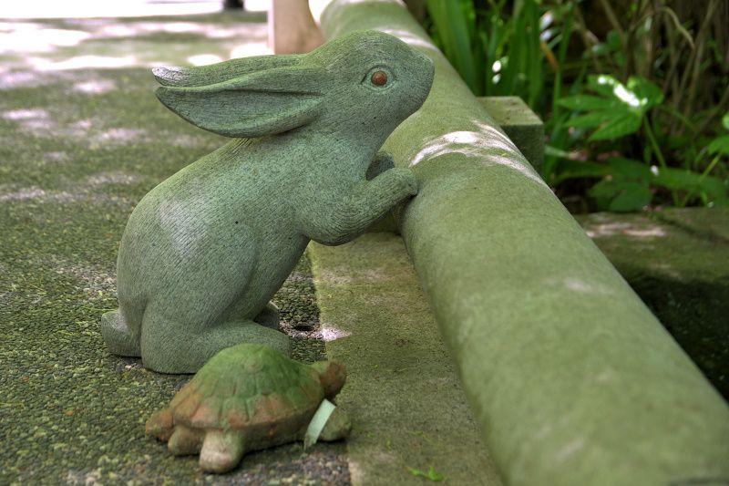 月とウサギの美しくも悲しい伝説