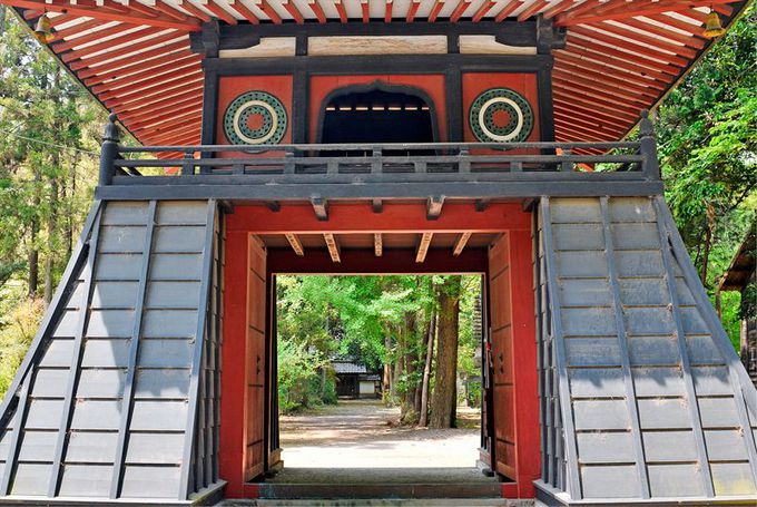 得川氏の繁栄『長楽寺』