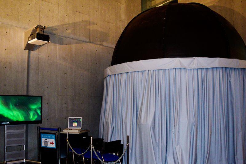日本唯一のオーロラ体験!感動の12分!立川「南極・北極科学館」