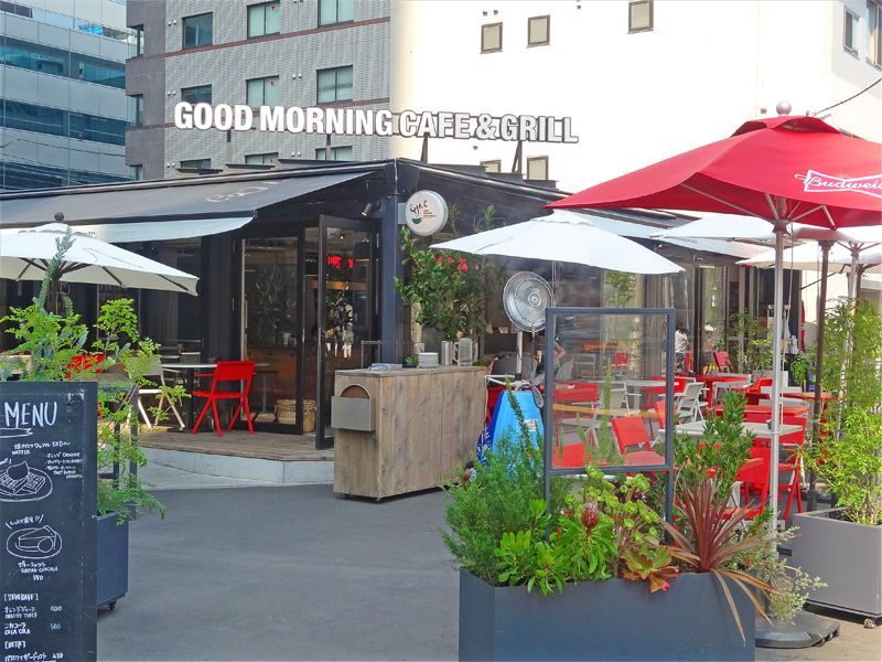 3.GOOD MORNING CAFE & GRILL/東京