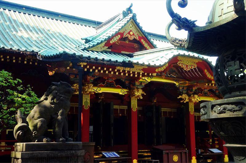 「根津神社・神田明神・亀戸天神社」東京の名刹・古刹を観光