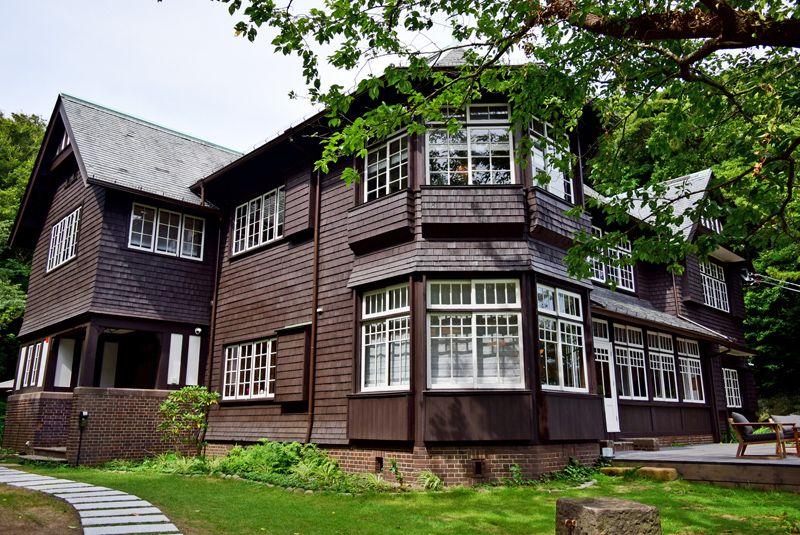 旧荘清次郎別荘(現・古我邸 邸宅レストラン)