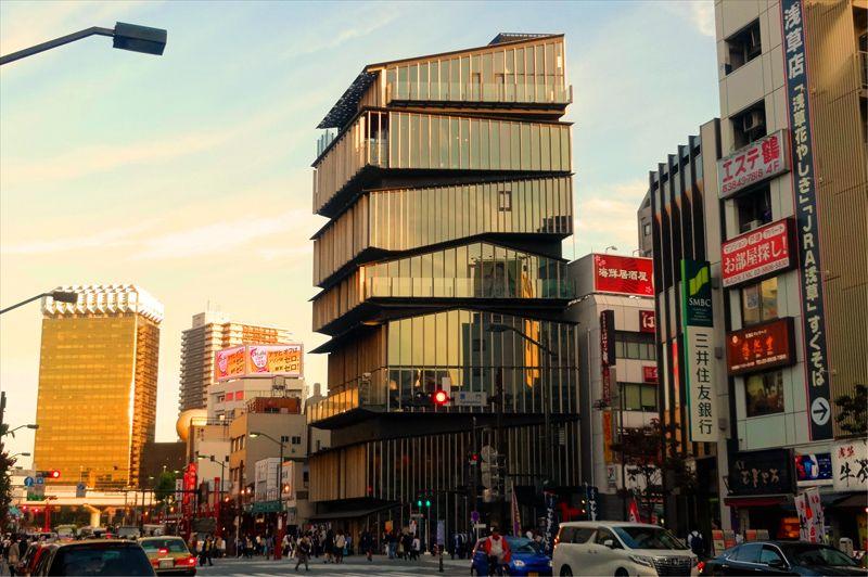 浅草の文化と街並みに似合う『浅草文化観光センター』