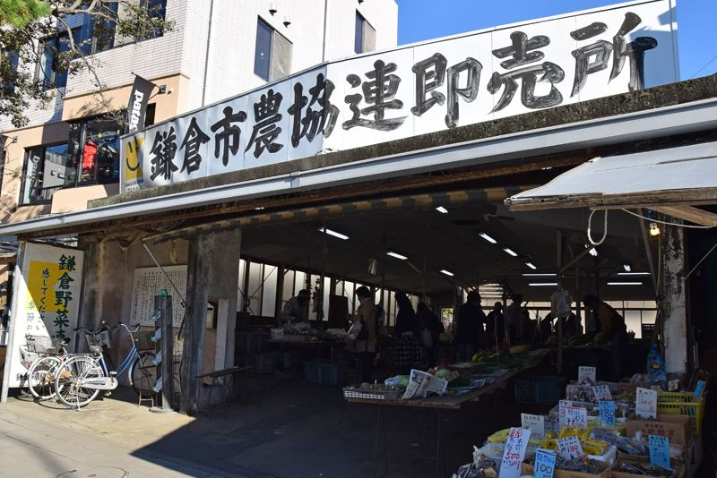 日本初のマルシェへ!本場でいただく「鎌倉野菜」