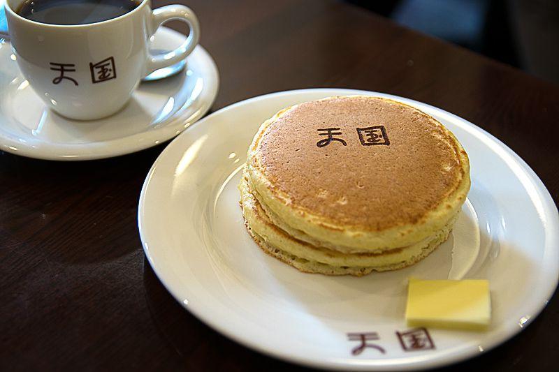 天国への階段!浅草「珈琲 天国」のホットケーキが女性に大人気
