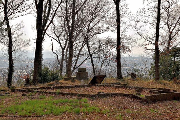 絶景の松山城跡