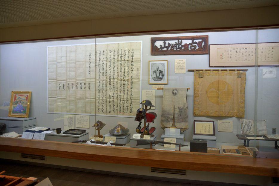 織田家の歴史を知る「歴史民俗資料館」