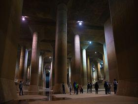 埼玉のパルテノン神殿!春日部「龍Q館」はオラも驚いた地底の絶景だゾ|埼玉県|トラベルjp<たびねす>