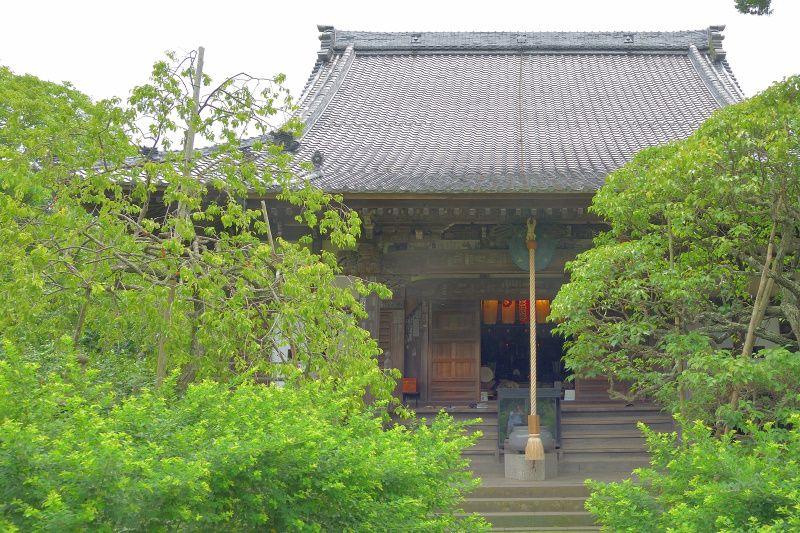 7. 小町通り近くにある「宝戒寺」