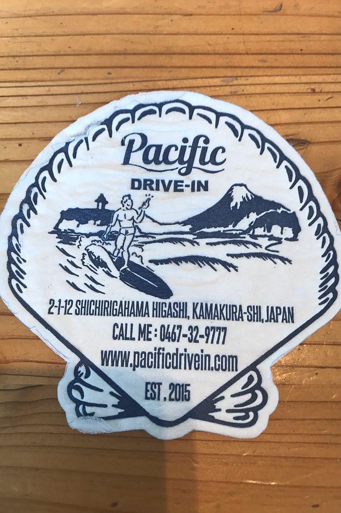 ハワイアンテイストのクールなデザイン