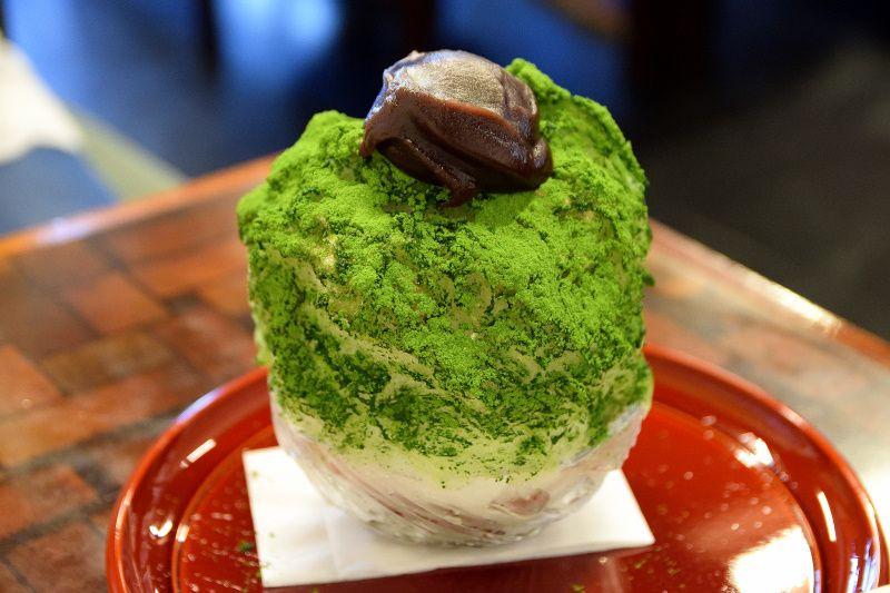 江戸時代の宇治金時を再現!香取市「茶屋花冠」で京都の雅なかき氷を味わおう