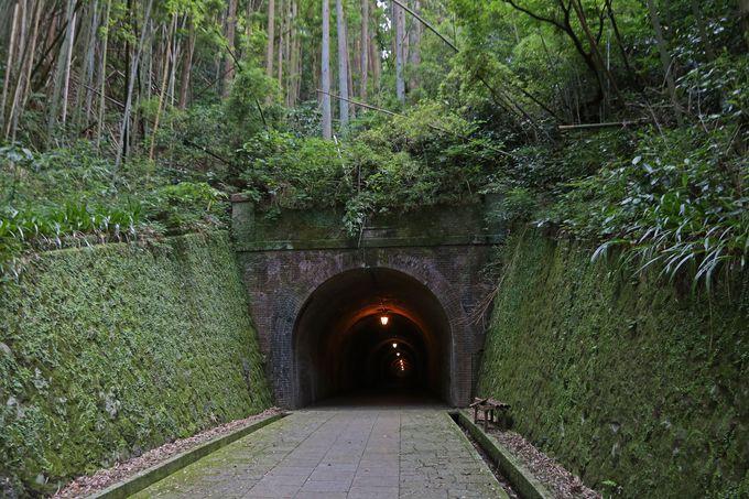 今は利用する人も希な「明治のトンネル」