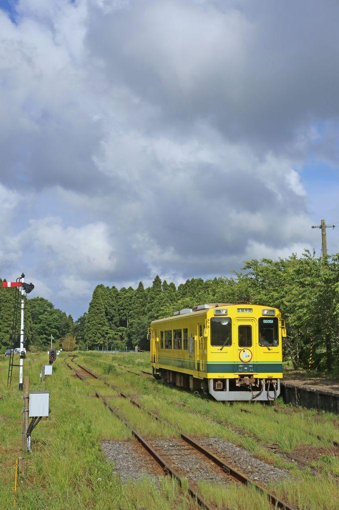 国鉄ローカル線の面影が残る駅