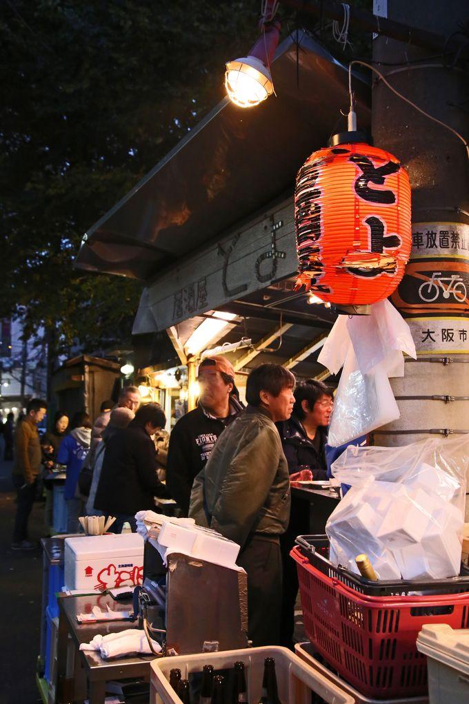 小さな楽しいお店がたくさん並んでいる京橋の町