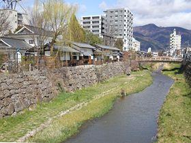 長野県・松本市の魅力が凝縮。女鳥羽川に沿って歩こう|長野県|トラベルjp<たびねす>