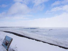 ドライブしながら流氷観光!網走から国道244号線を行く
