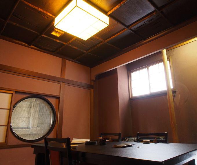 現店舗の再建時に、旧金澤友二郎邸の部材を再利用