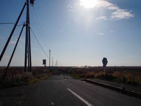 辺り一帯に広がる荒涼とした風景!晩秋の北海道「野付半島」
