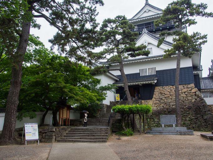 一度取り壊されながらも、再建された岡崎城