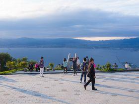 夜景以外の景観も魅力たっぷり!北海道・函館山展望台