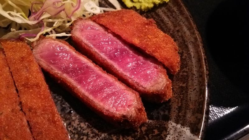 秋葉原「牛カツ壱弐参」で超レアな牛カツを食べよう!