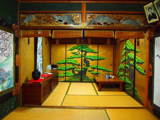 理容室なのに天守閣を作っちゃった「小阪城」