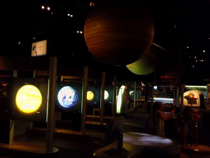 見応えある展示内容で人気の仙台市天文台