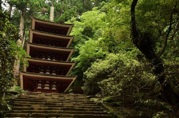 国宝 室生寺「五重塔」