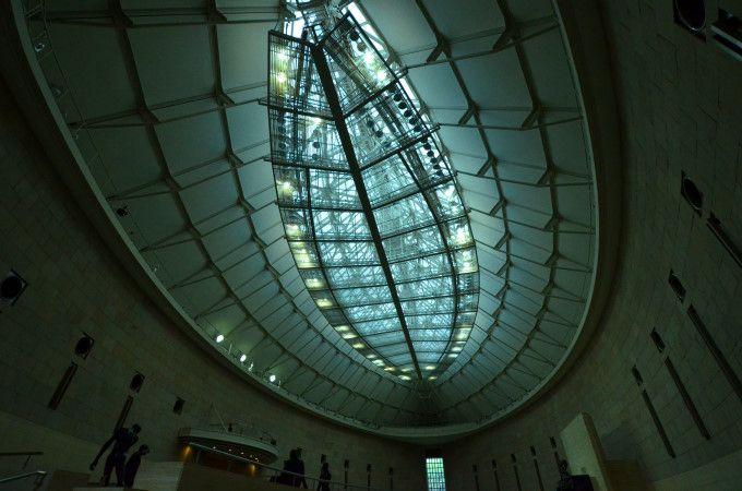 まさに殿堂。静岡県立美術館「ロダン館」