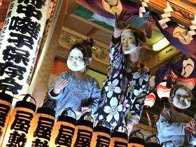 ハイライトは夜間。暗闇に人が輝く大國魂神社「くらやみ祭」