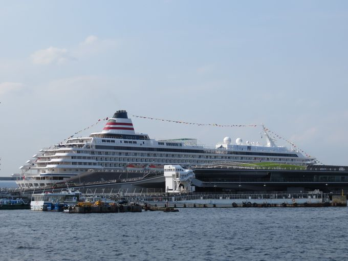 横浜港「大さん橋」国際客船ターミナルにも駐車できます!!