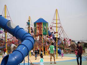 行かなきゃ損&無料で遊べる!神奈川「大和ゆとりの森」ふわふわドームで子供は大喜び|神奈川県|トラベルjp<たびねす>