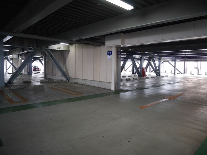 なんと!うれしい!駐車場が終日無料!