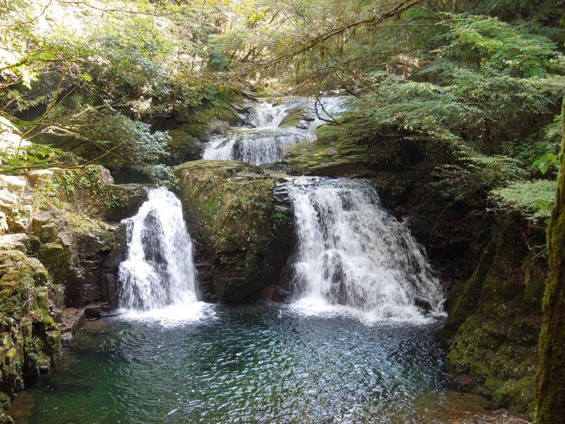 赤目四十八滝でマイナスイオンシャワーを浴びよう!