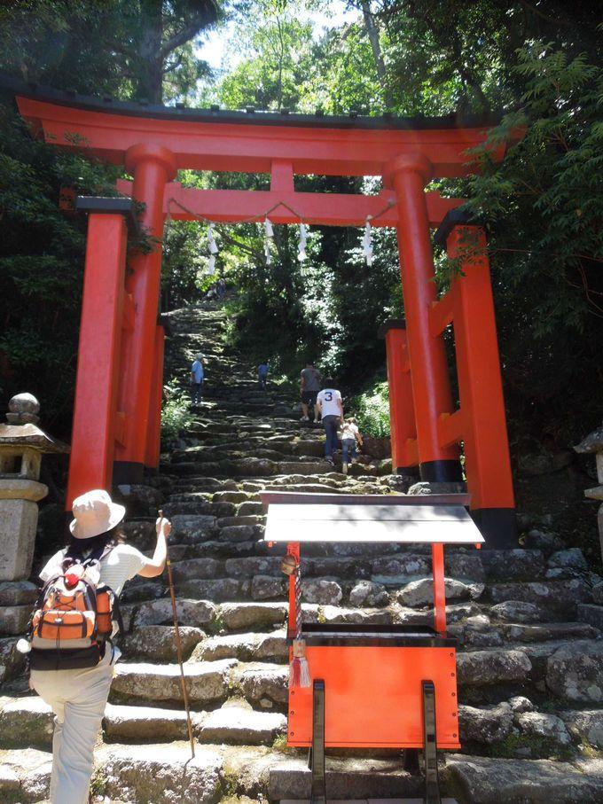 『神倉神社』の神が降り立った磐座(いわくら)