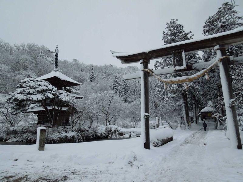 雪景色のまほろばの里たかはた〜山形県の冬の旅