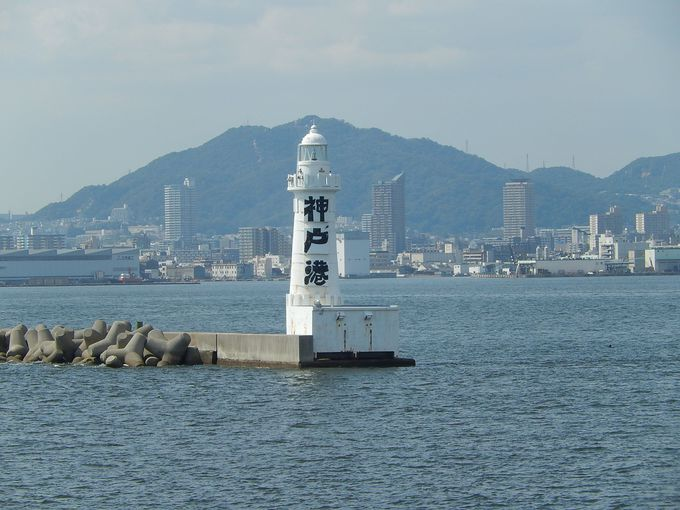 日本でたった一つ…、神戸港第一防波堤東灯台