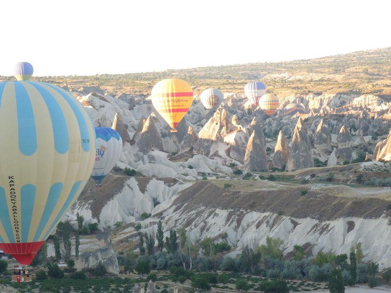 世界的な不思議風景のカッパドキアは、驚きの連続!