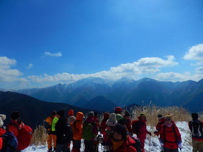 近畿最高峰・八経ヶ岳に弥山の秀麗
