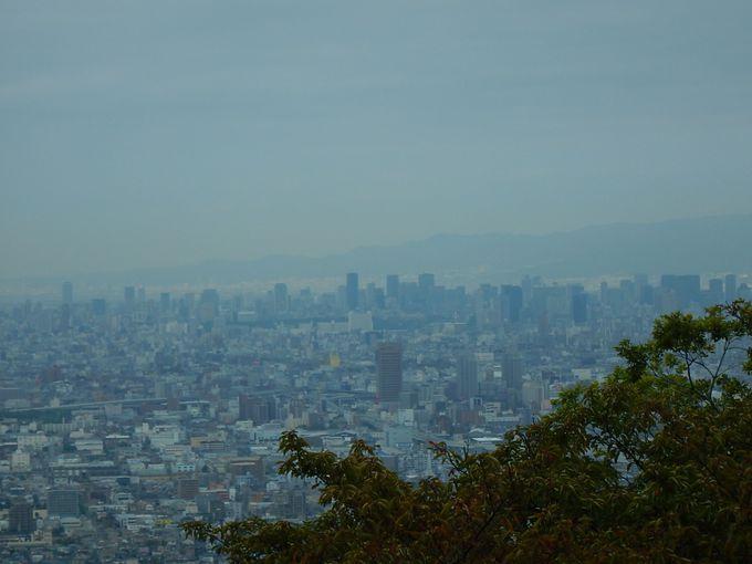 額田山展望台から見渡せば…