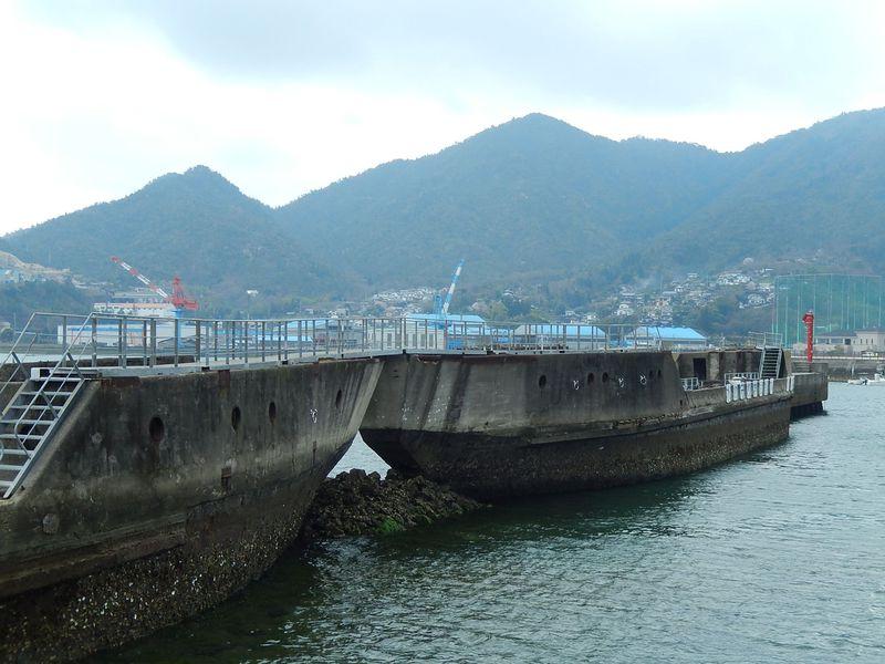 コンクリート船って何?広島・安浦で初めて出会う衝撃の風景