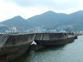 コンクリート船って何?広島・安浦で初めて出会う衝撃の風景|広島県|トラベルjp<たびねす>