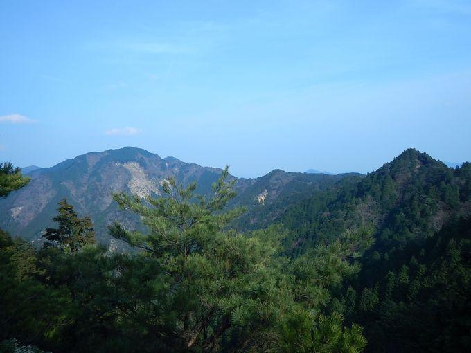 三国岳から油日岳も激しいアップダウン