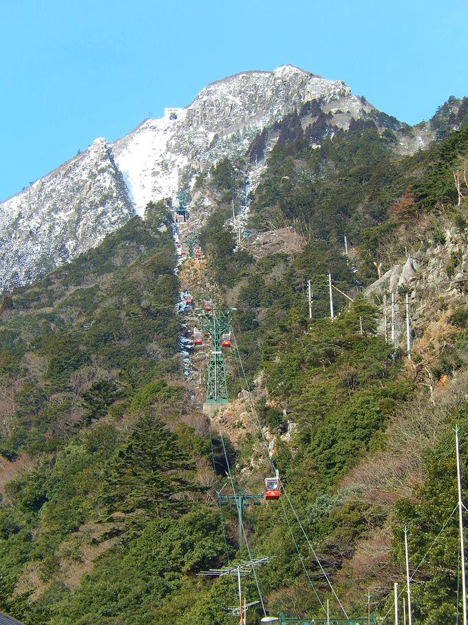 中登山道口からスタート