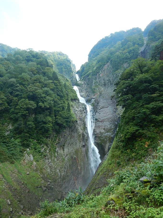 ゴールは日本一の称名滝